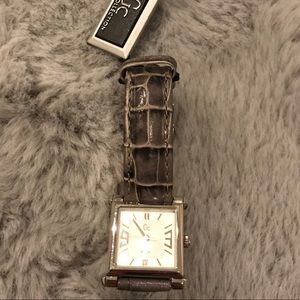 NWT Guess Collection Leather Watch